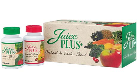 Juice Plus+ Orchard Blend and Garden Blend